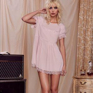 New Nasty Gal X Courtney Love Canyon Club Dress M
